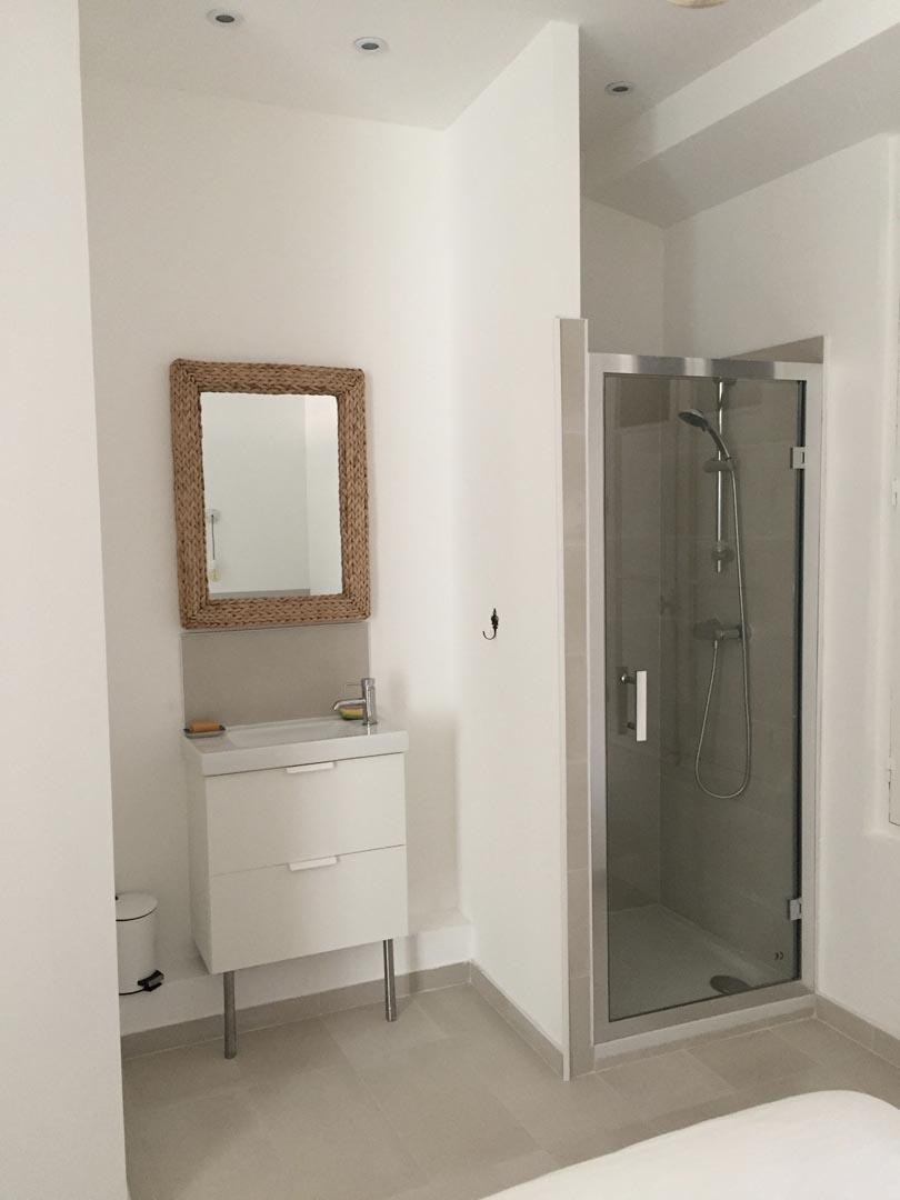 salle de bains renové