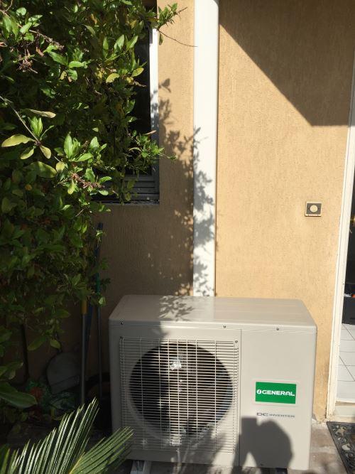 installation unité exterieur climatisation